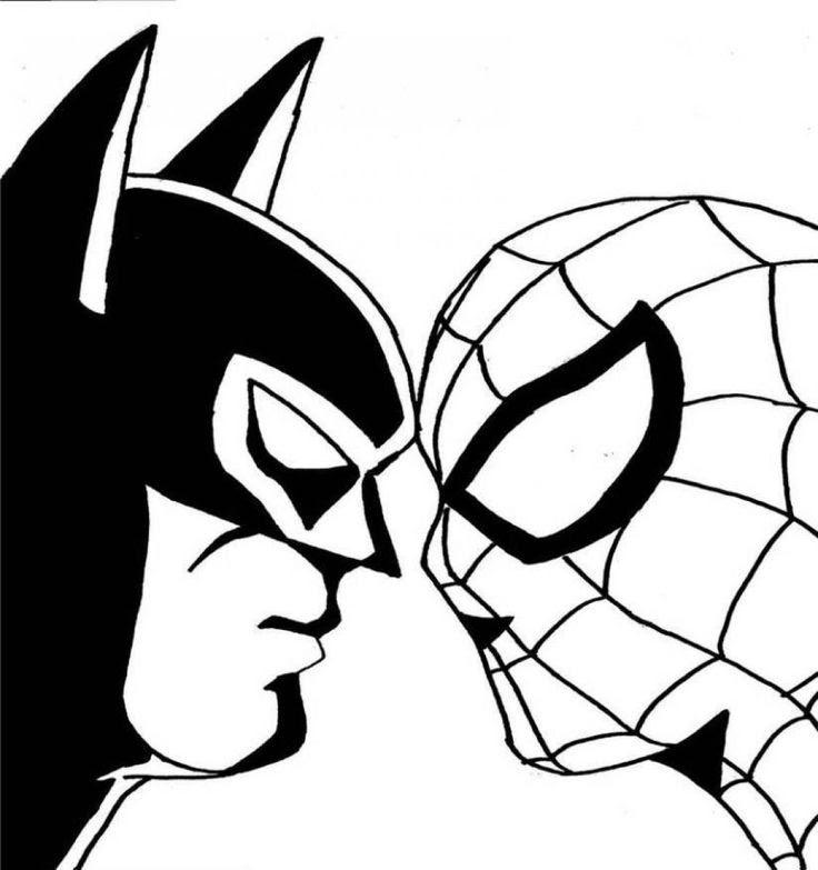 Batman Vs Superman Drawing At Getdrawingscom Free For Personal