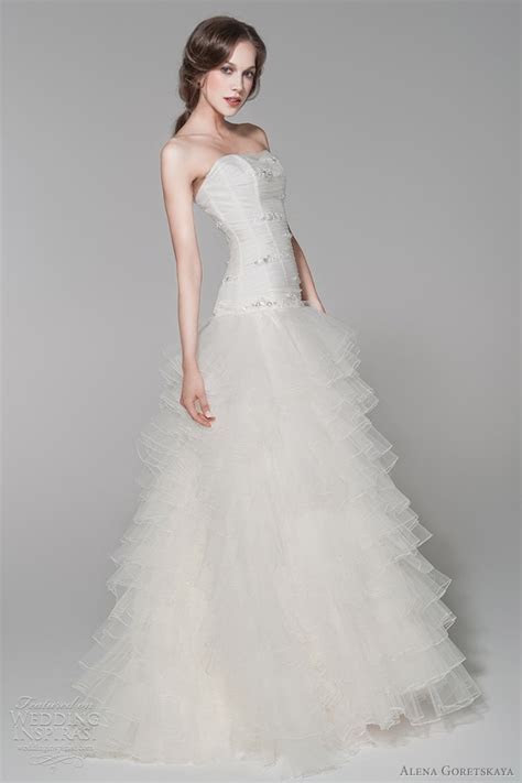 Alena Goretskaya Wedding Dresses 2012   Wedding Inspirasi