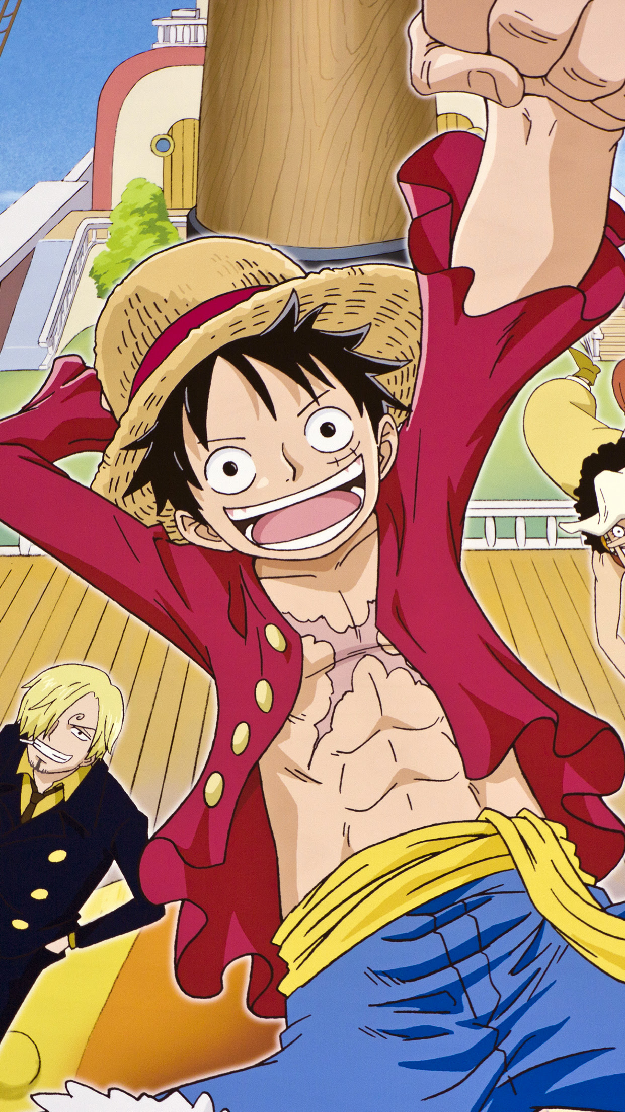 One Piece Wallpaper For Iphone X 8 7 6 Free Download On 3wallpapers