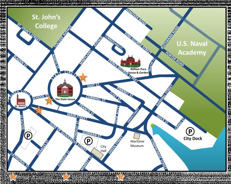 Map Historic Annapolis