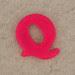 Magnetic Letter Q