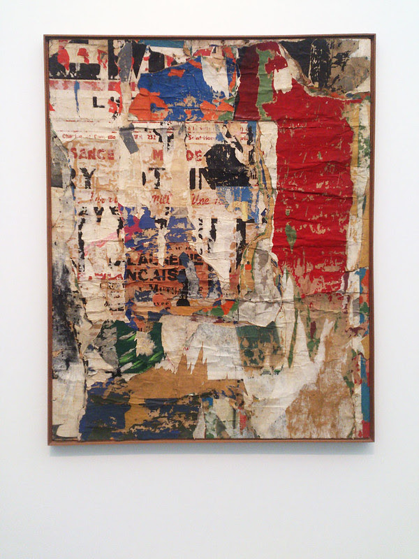 Destroy The Picture at MCA Chicago - Jacques Villegle
