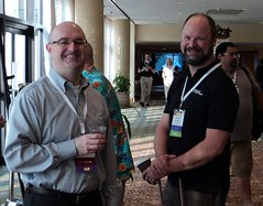 Bill Graziano and Kevin Kline at SQLRally