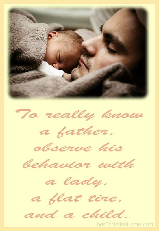 Quote About Fathers Herchristianhome
