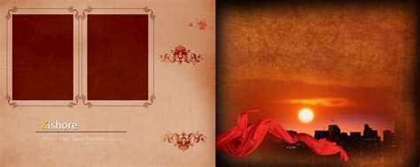 Wedding album cover background design 3 » Background Check All