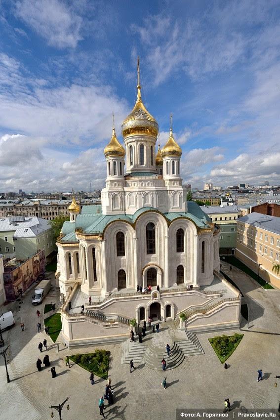 Μεγάλη Εγκαίνια της Νέας Εκκλησίας.  Φωτογραφία: Ανατόλι Goryainov / Pravoslavie.ru