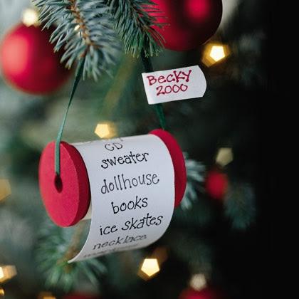 wishing spool ornament