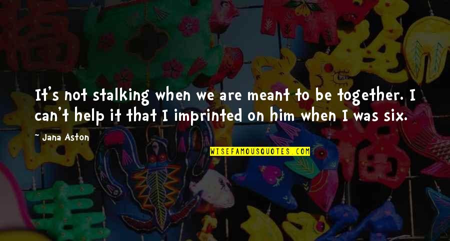 We Not Meant Together Quotes Top 36 Famous Quotes About We Not