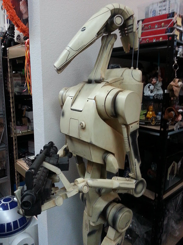 Lifesize Battle Droid