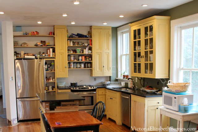 Planning an old house kitchen remodel considering