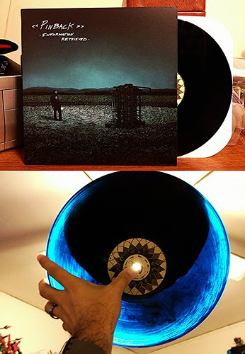 Pinback - Information Retrieved LP - Smokey Blue Vinyl by Tim PopKid