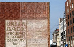 green back ghost sign