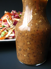 Gingered 3-Seed Dressing