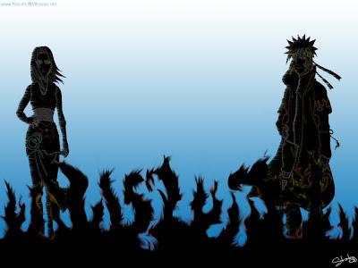 Naruto Uzumaki and Sakura Haruno