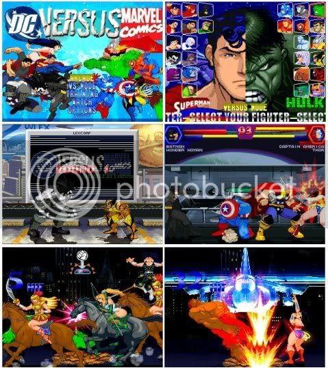 Dc vs Marvel Mugen Edition