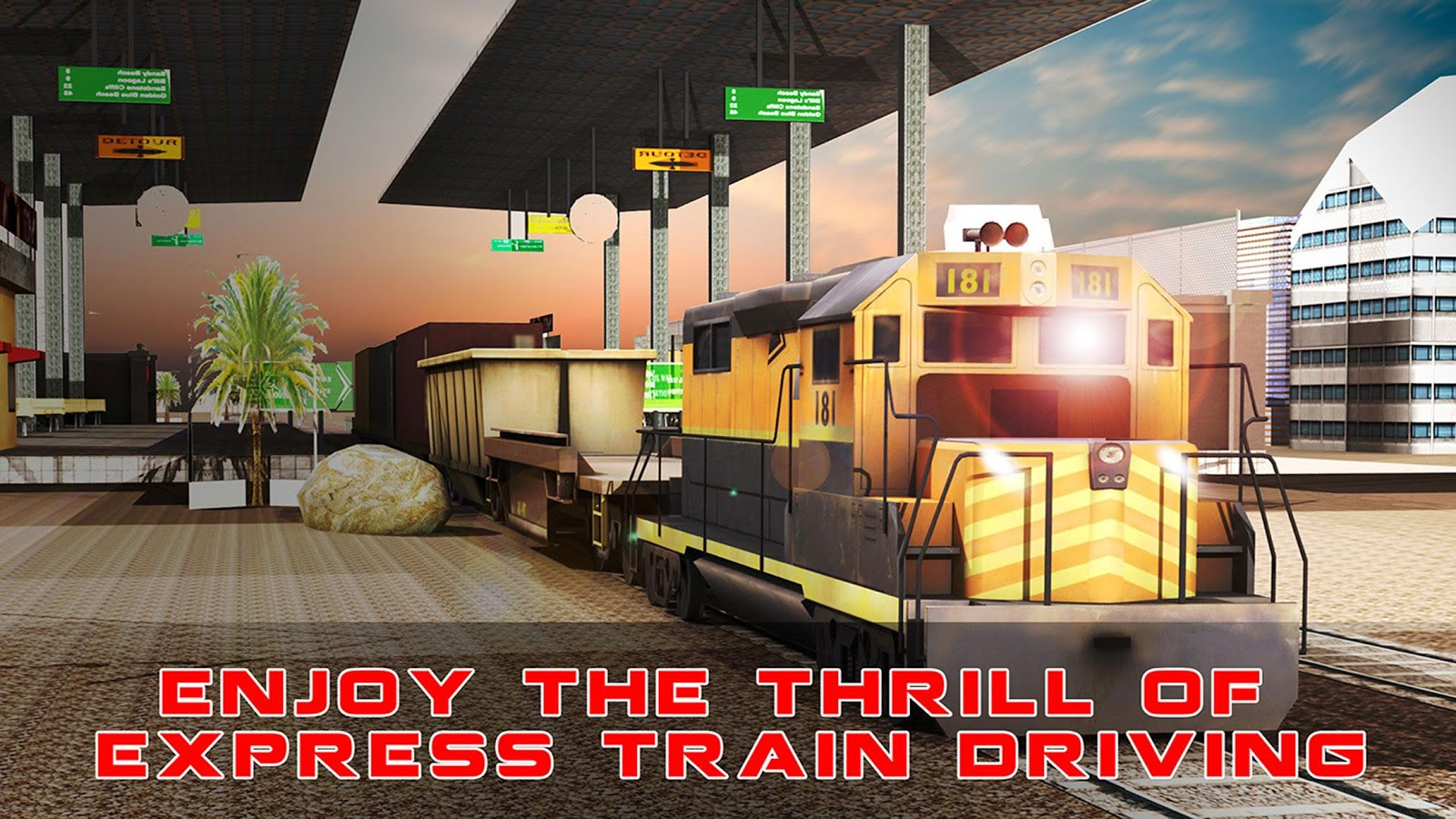 Download Train Cargo Crane Simulator 3D MOD APK [Unlocked ...