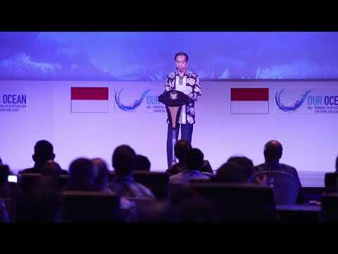 Presiden Jokowi: Lautmu Adalah Masa Depanmu