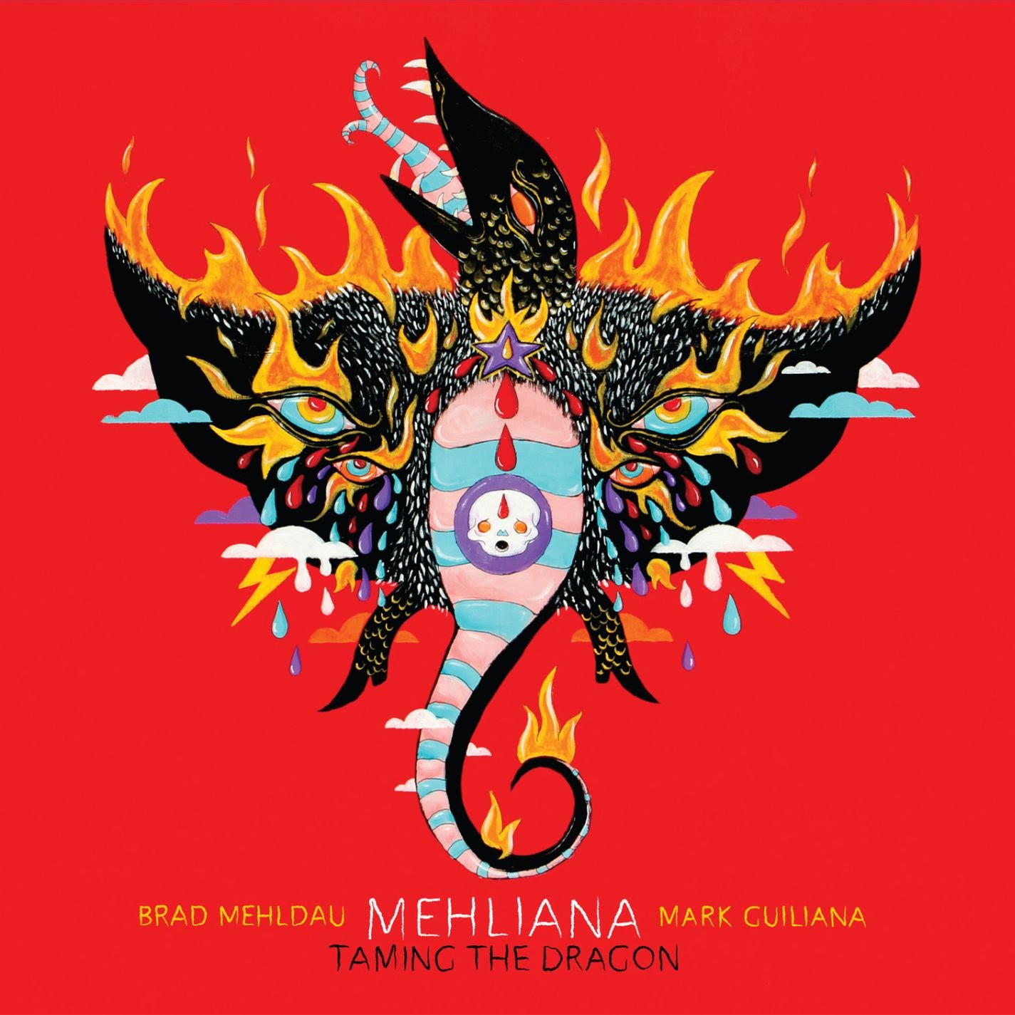 Brad Mehldau  - Mehliana: Taming The Dragon cover
