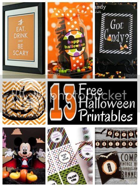 DIY Home Sweet Home FREE Halloween Printables