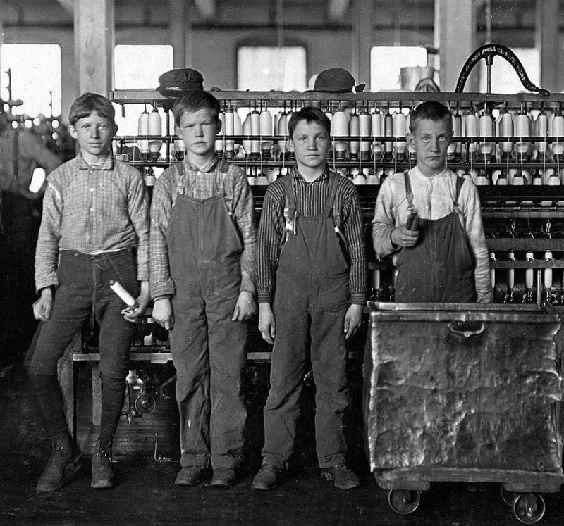 Ser criança no início do Século XX não era nada fácil 18