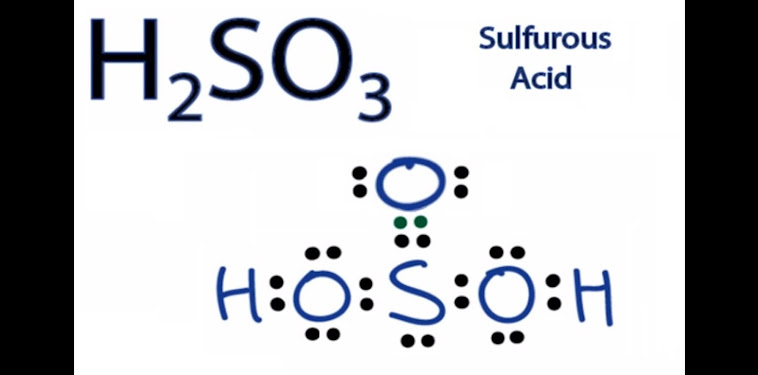 H2so3 3d Structure