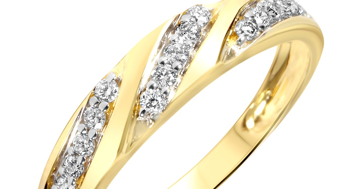 Gold Wedding Rings Engagement Rings Yellow Gold For Women