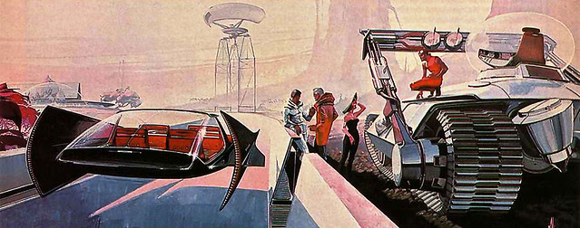 ... highway construct - Syd Mead