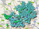 Explore Old Hertfordshire with a map