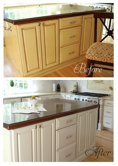 Centsational Girl » Blog Archive Painting Kitchen Cabinets, Etc ...