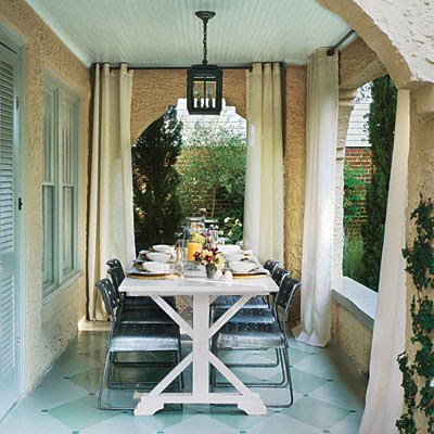 Porches and Patios: Simple & Chic Porch - Porch and Patio Design ...