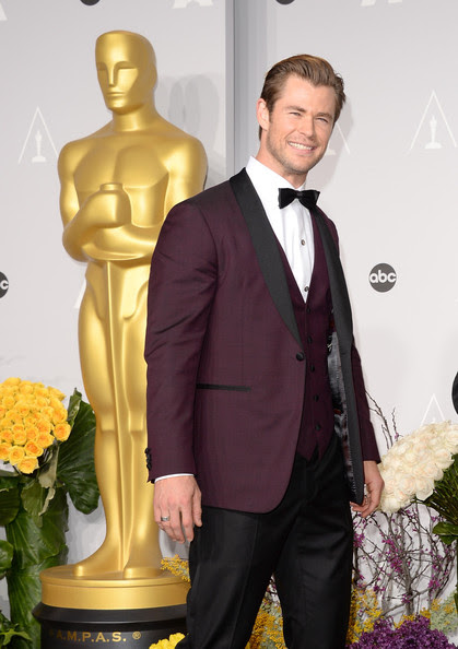 Chris Hemsworth - Press Room at the 86th Annual Academy Awards