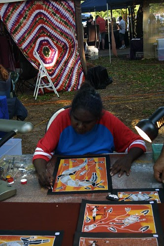 Artist Mindil Beach Sunset Market