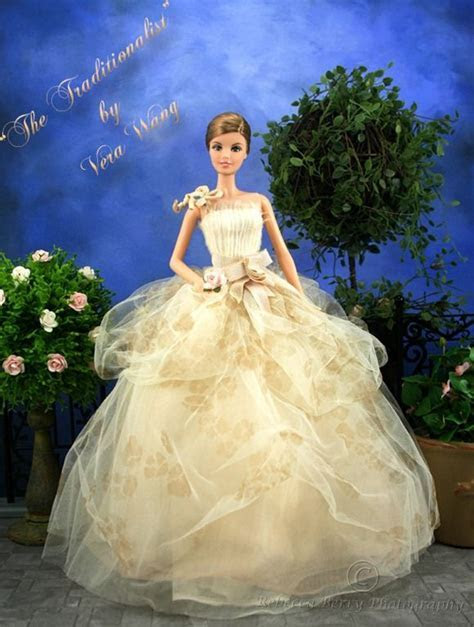 "Vera Wang Bride Barbie ""The Traditionalist""   Inside the"