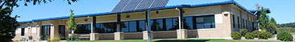 Solar panels at a Middleton business