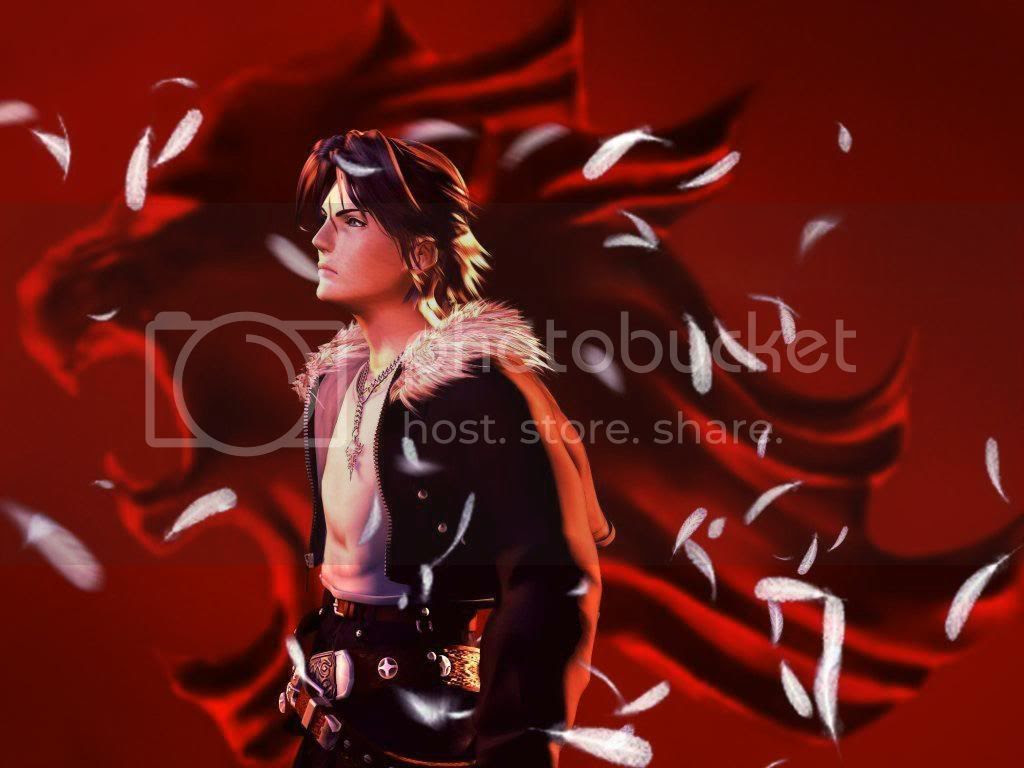 Squall Lionheart Final Fantasy VIII Wallpaper