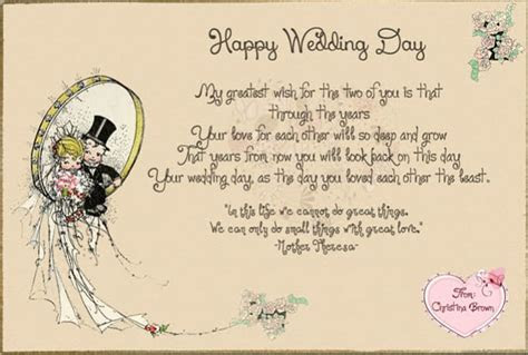 Make a awesome wedding greeting cards with your own words