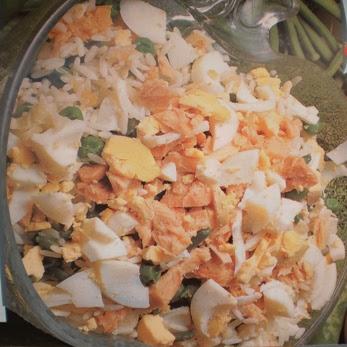 Arroz Frio com Legumes e Atum