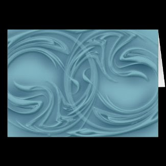 curls,blue,card,greeting card,artwork