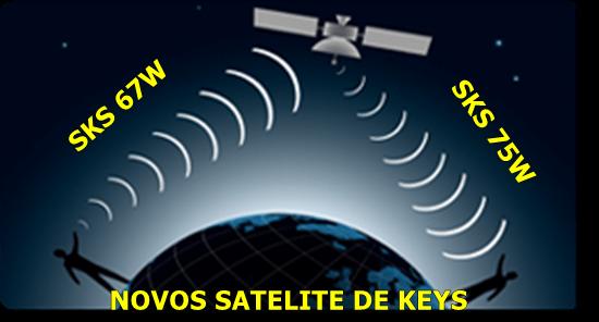 NOVOS SATELITE DE KEYS SAO ANUNCIADO PELA ATHOMICS ( STAR ONE C3 75W ) E PELA TEAM GOST ( SES 10 67W ) CONFIRAM 13/05/2019