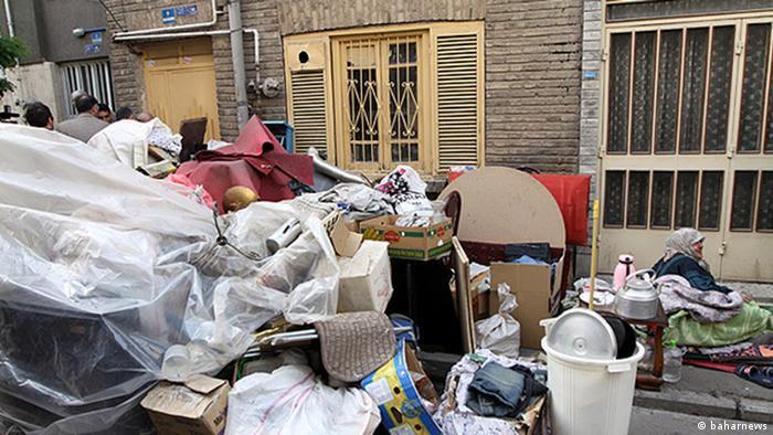 Iran Obdachlose Frauen (Bildergalerie) (baharnews)
