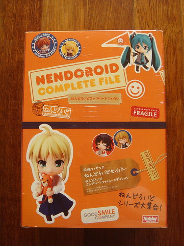 Nendoroid Complete File. Nendoroid Saber No. 225 by Good Smile Company.