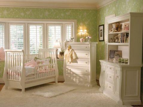 Baby Girls' Nursery Decorating Ideas – Interior design