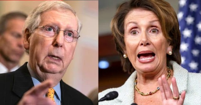 After Democrats Block Senate Coronavirus Aid – Mitch McConnell Turns The Tables On Pelosi