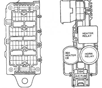 1989 toyota camry fuse box diagram - general wiring diagram  general wiring diagram