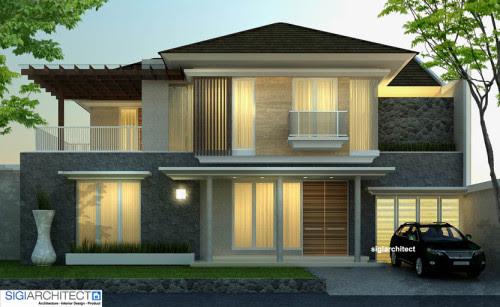 Desain Pagar Rumah Tanpa Halaman Download 49K