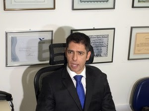 Delegado Alessandro Thiers é o responsável pela investigação do caso da atriz Taís Araújo (Foto: Henrique Coelho/G1)