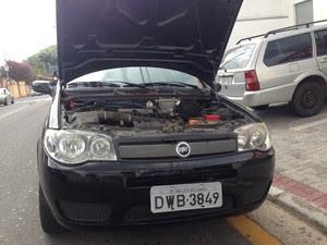 Carros eram furtados no Vale do Paraíba e levados para desmanches no Alto Tietê, diz polícia de Guararema. (Foto: Carolina Paes/G1)