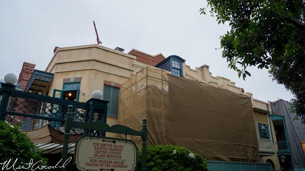 Disneyland Resort, Disneyland, New Orleans Square, Club 33, Rooftop, Refurbishment, Refurbish, Refurb