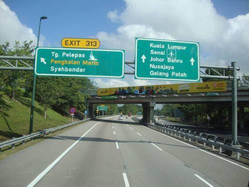 По магистралата към Куала Лумпур