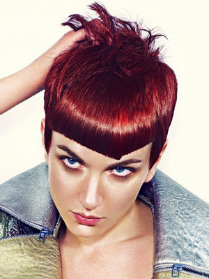 New Short Punk Hairstyles for Women|
